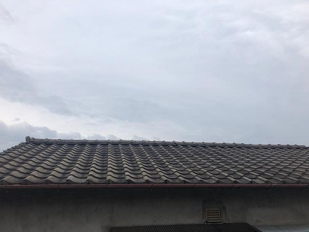 セメント瓦→三州瓦葺替工事